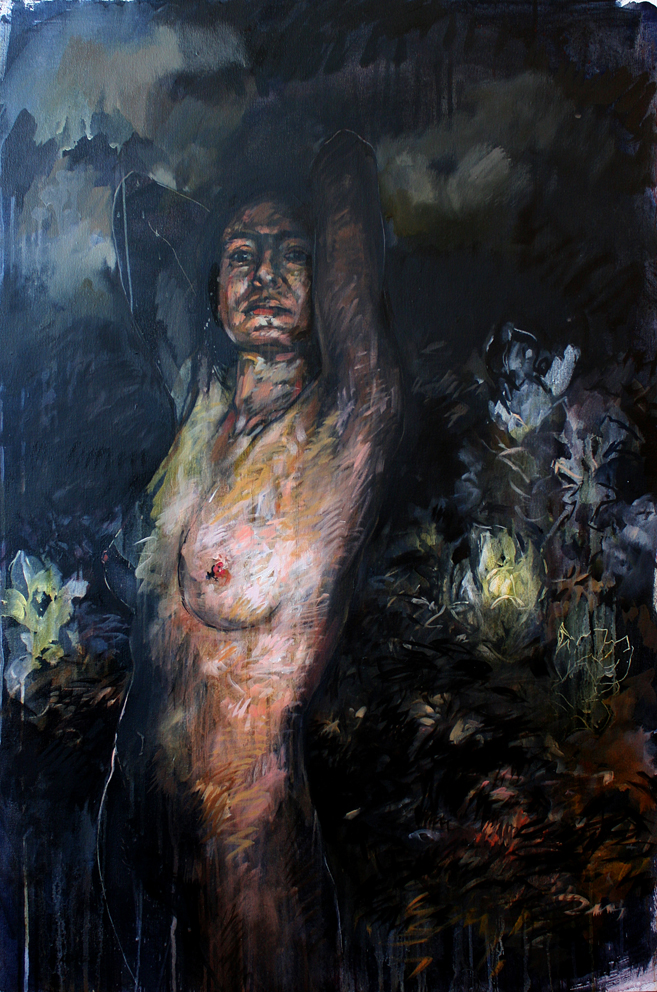 Ones_Self_120_x_80cm_Oil_on_canvas_net_