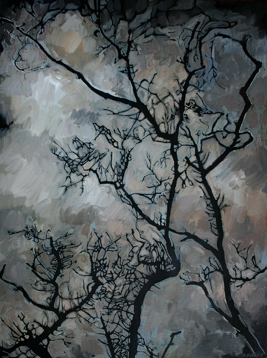 80_x_60cm__Spindle_tree__oil_on_canvas