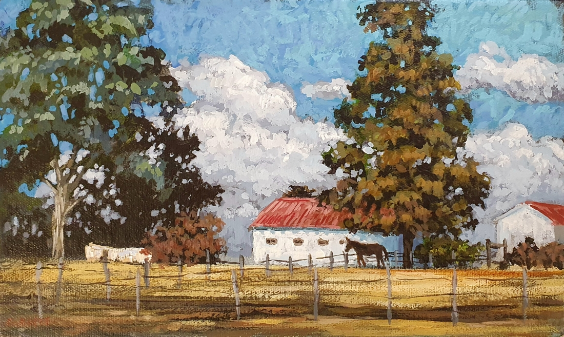 The_barn_with_the_red_roof_15_x_25_x_4cm_acrylic_on_linen_net