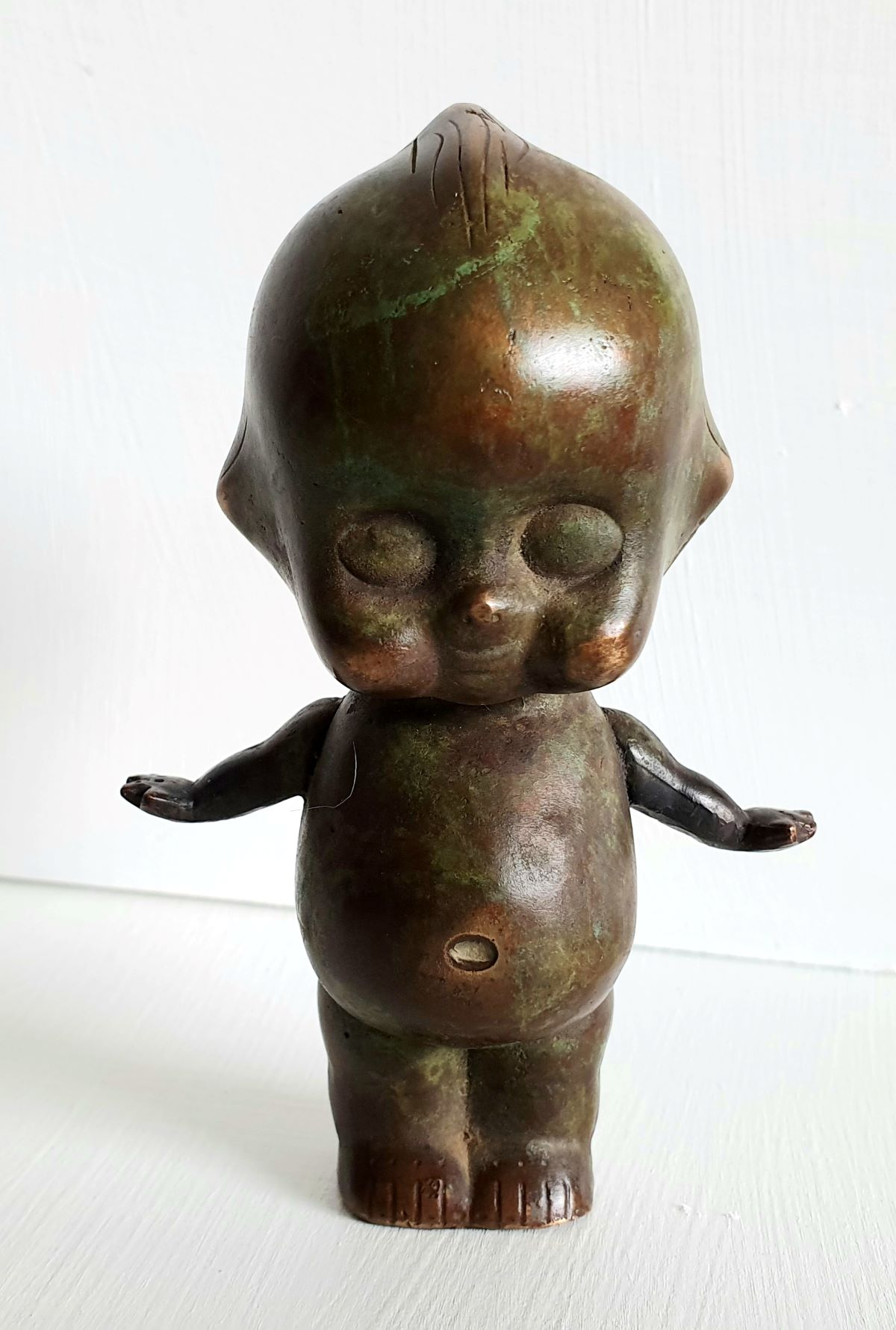 Rediscovered_Childhood_Green_Gold11_x_8cm_Bronze_web