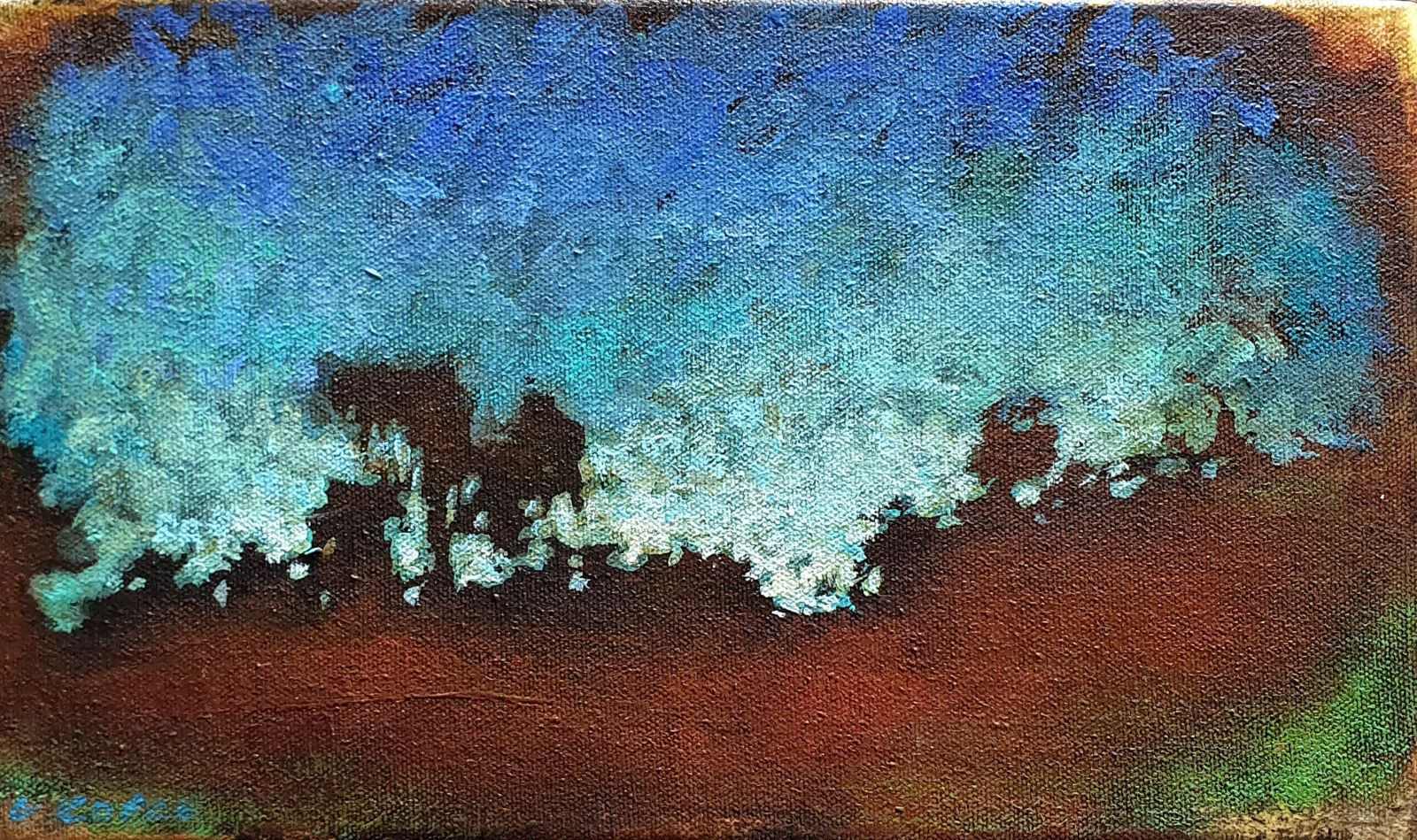 The_essence_15_x_25_x_4cm_Acrylic_on_canvas