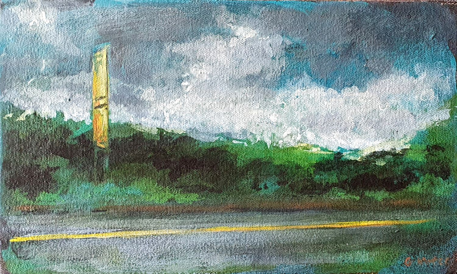 The_still_of_movement_15_x_25_x_4cm_Acrylic_on_canvas